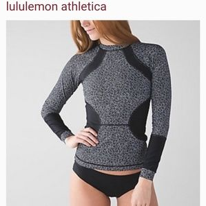 Lululemon athletics rash guard sz 2 no tag